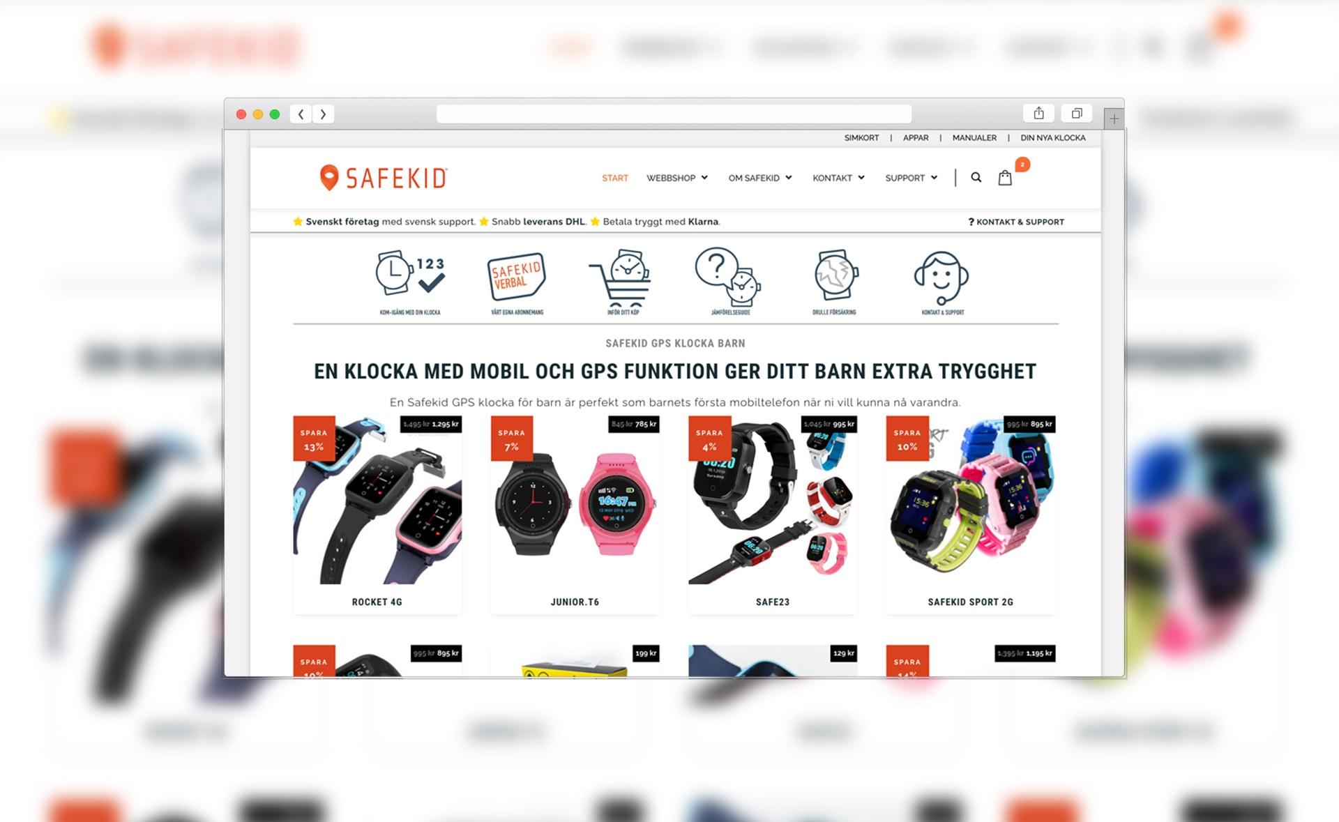 Safekid e-handel